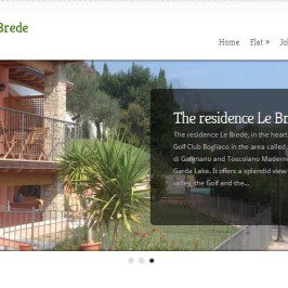 Résidence Le Brede au bord du Lac de Garde en Italie