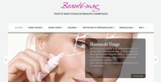 Beautemag.com : tests et bancs d'essai de produits cosmétiques