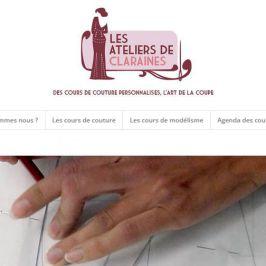 Les ateliers de Claraines : des cours de couture personnalisés