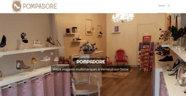 POMPADORE : magasin de chaussures à Verneuil-sur-Seine
